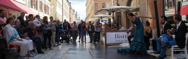 Stockholm street flamenco